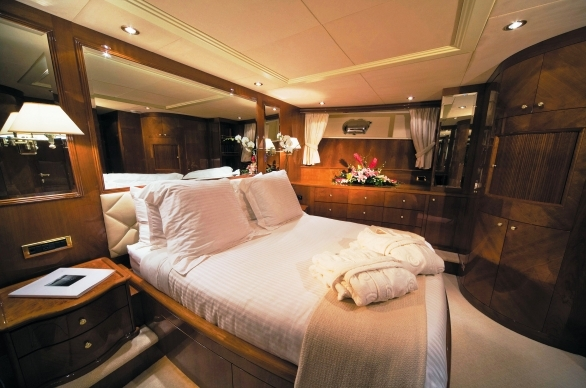 Yacht CRISTALEX -  VIP Cabin